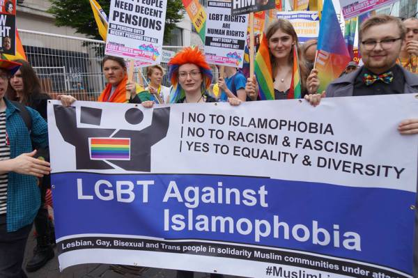 LGBT Against Islamophobia at Birmingham Pride 2015