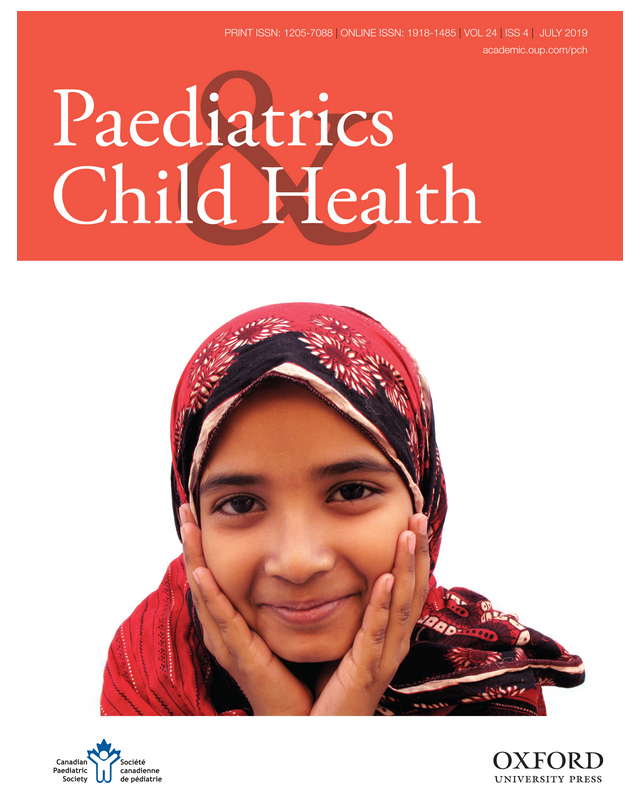 Paediatrics & Child Health, Vol. 24, #4, July 2019